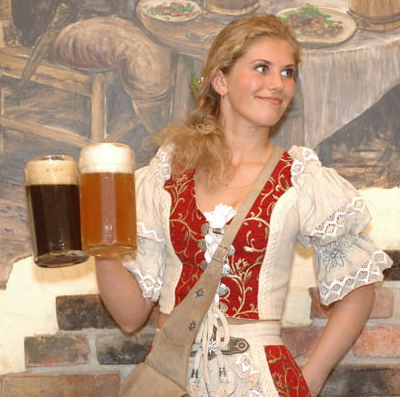 Cute beer wench