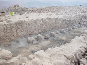 An ancient brewery in Peru