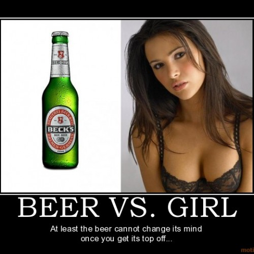 Beer VS Girl