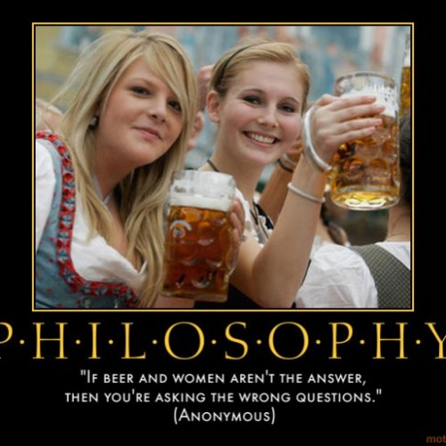 philosophy-life-time-woman-beer-answer-question-wrong-german-demotivational-poster